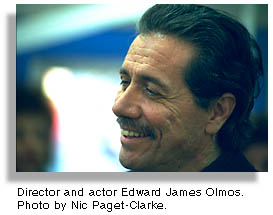 Edward James Olmos by Nic Paget-Clarke