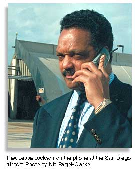 Rev. Jesse L. Jackson. Photo by Nic Paget-Clarke
