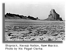 Shiprock, Navajo Nation. Photo by Nic Paget-Clarke.