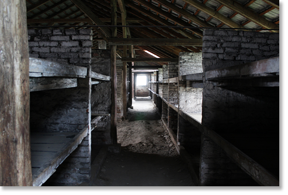 International Holocaust Remembrance Day 2017. Barracks in the Nazi German Auschwitz II - Birkenau Camp in Poland. Birkenau became the largest center for the extermination of Jews and thelargest concentration camp of the network of Nazi concentration and extermination camps. Photos by Nic Paget-Clarke.
